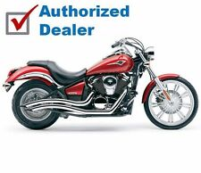Cobra Chrome Speedster Swept Exhaust Pipes 2006-2016 Kawasaki Vulcan VN900