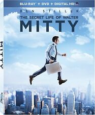 The Secret Life of Walter Mitty (Blu-ray/DVD, 2014, Includes Digital Copy)
