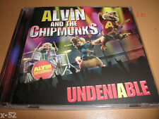 ALVIN and the CHIPMUNKS cd UNDENIABLE time warp HO HO HO Livin On a Prayer