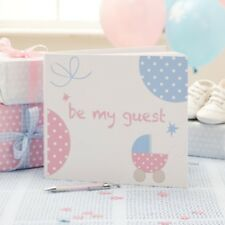 TINY FEET GUEST BOOK  - Baby Shower , Party Supplies Tableware
