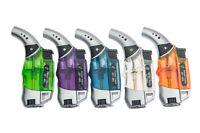 Jet Torch Windproof Cigarette Lighter Adjustable Flame Butane refillable Lighter