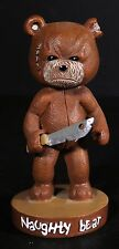 Naughty Bear Video Game Statue Xbox 360 Playstation 3 Promo Figure Free US S&H