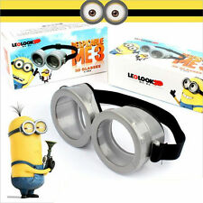 Cute Movie Character Minions Figures Circular Goggles Glasses Cosplay Toy Gift