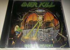 OVERKILL - UNDER THE INFLUENCE - CD SIGILLATO (SEALED)