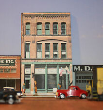 #112 HO scale background building flat   BENDERS   FREE SHIPPING