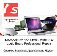 Apple Macbook Pro 15 2010 A1286 i5 i7 Charging Backlight Liquid Damage Repair