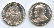 GY763 - Medaille Vatikan Michelangelo La Pieta Johannes Paul II.1978-2005