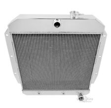 2 Row All Aluminum Champion Radiator For 1955 - 59 Chevy Truck 3A/B