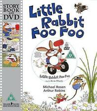 Little Rabbit Foo Foo by Michael Rosen - Story Book and DVD - NEW