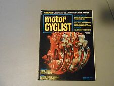 JULY 1971 MOTORCYCLIST MAGAZINE,NORTON COMMANDO 750,BAJA,MICHIGAN,ATLANTA,YAMAHA
