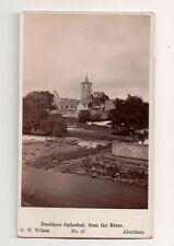 Vintage CDV Dunblane Cathedral  near the city of Stirling, in central Scotland.