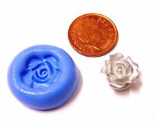 Reusable Rose Silicone Mould Sugarcraft Jewellery Card Topper Food Safe VS