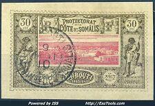 COTE DES SOMALIS N° 13 AVEC OBLITERATION A VOIR