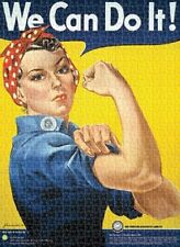 Jigsaw puzzle American History Rosie the Riveter We Can Do It 1000 piece NEW