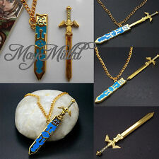 Legend of Zelda Removable Master Sword Necklace Pendant With Gift Fashion LS30