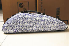 New Violin 4/4 Full Size Composite Carbon Fiber Case With Bow Holders & Straps