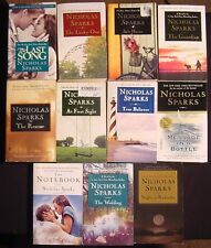 Nicholas Sparks~Lot 11 PB~Last Song~Safe Haven~Guardian~At First Sight~Rescue+