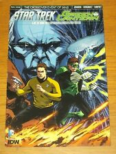 STAR TREK GREEN LANTERN SPECTRUM WAR #1 IDW DC COMICS