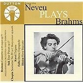 Nevue Plays Brahms, Philharmonia Orchestra, Very Good