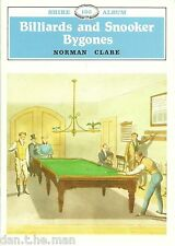 BILLARDS AND SNOOKER BYGONES - SHIRE BOOK 136 - BY NORMAN CLARE - NEW