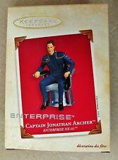 NEW Hallmark Ornament 2003 Captain Jonathan Archer Star Trek Enterprise NX-01