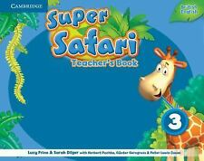 Super Safari Level 3 Teacher's Book (Super Minds), Frino, Lucy, Very Good condit