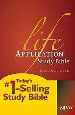Life Application Study Bible NIV, Personal Size, New, Free Shipping