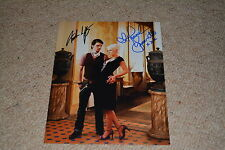 ANDREW LEE POTTS &  HANNAH SPEARRITT signed autograph In Person 8x10 PRIMEVAL