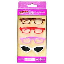 Set of 4 Glasses fits 18'' American girl doll New