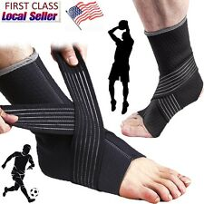 Breathable Ankle Support Ankle Brace Protective Running Basketball Sports M G2