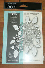 Memory Box English Rose Bouquet De Acero Craft Die MB99139