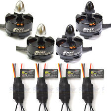 2 pair Emax MT2204 2300KV CW/CCW Brushless Motor + Emax Blheli 12A Brushless ESC