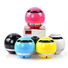 Hot GS009 Portable Speaker Wireless Mini Bluetooth Speaker With LED Light Red