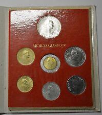 GN163 - Vatikan Kursmünzensatz 1982-IV Original KMS Johannes Paul II.1978-2005