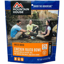 1 - Mountain House Freeze Dried Food Pouches - Chicken Fajita Bowl - New Item