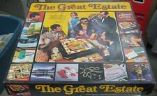 Hasbro 1974 The Great Estate Millionaire Game With Jerry Lewis On Box 100% Comp