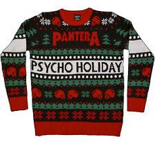 Pantera-X-Large Ugly Christmas Sweater