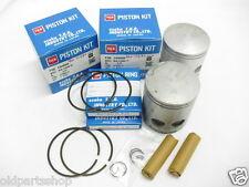 Yamaha RD350LC Piston Kit 0.25 x2 PISTON Piston Ring Pin Clips 1st Oversized