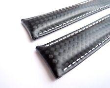 CARBON-BAND schwarz speziell passend für Breitling-Faltschließen 20/18 (110/90)