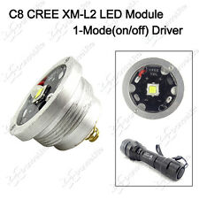 1PC 1800LM 1-Mode CREE XM-L2 U3 LED Module Drop-in for UltraFire C8 Flashlight