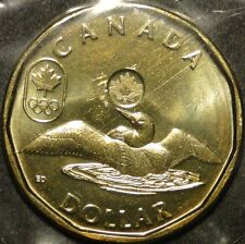 BU mint sealed Canada 2012 Lucky Loonie for Olympic $1 dollar coin