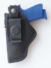 Nylon Gun Holster Hip Belt for BERSA THUNDER 380 & 22 pistol Black