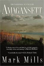 Amagansett by Mark Mills 2005 Large Paperback Book Novel Great Story!