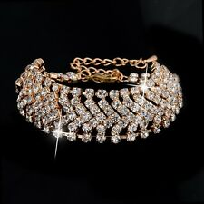 Austrian Crystal Gold Plated Bracelet for Girls and Women