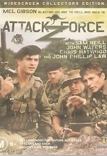 Attack Force Z Mel Gibson Sam Neill John Waters All Region DVD VGC