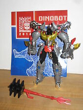 Transformers Age of Extinction Generations SDCC Dinobot Grimlock 100% Complete