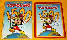 TOPOLINO n. 1500 del 26 Agosto 1984 con Targa Commemorativa Metallica ○○○○ USATO