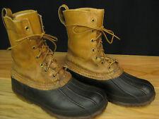 Vintage LL BEAN Maine Hunting Shoe Bean Boot Ladies 9 Mens 7