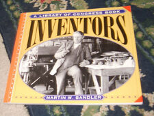 Inventors by Martin W. Sandler (1999, Paperback book great photos & information