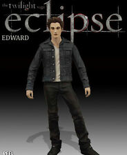 "2010 NECA REEL TOYS THE TWILIGHT SAGA ECLIPSE EDWARD CULLEN 7"" ACTION FIGURE"